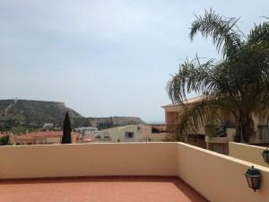 Unsere Terrasse mit Meerblick