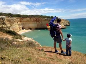 Wanderung an der Algarve