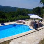 Holiday house with pool in Istria