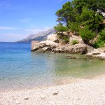 Stone coast in Istria
