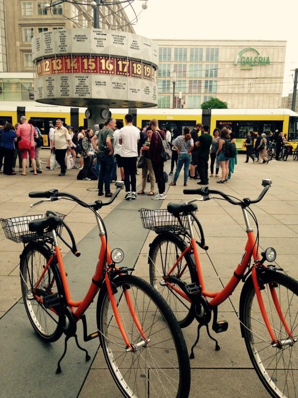 Bike tour through Berlin