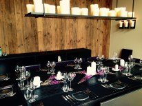 Dining table in Chalet Engelblick