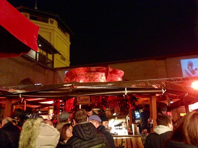 Feuerzangenbowle am Isartor
