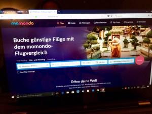 Flugsuche und Flugbuchung über momondo.de