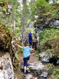 Jägersteig in Imst mit Kindern