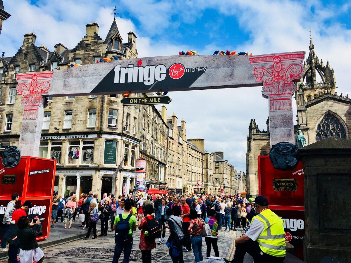 Edinburgh Festival - ein Tag in 15 Bildern!