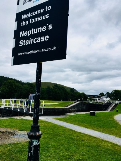 Fort William Schottland Neptunes Staircase