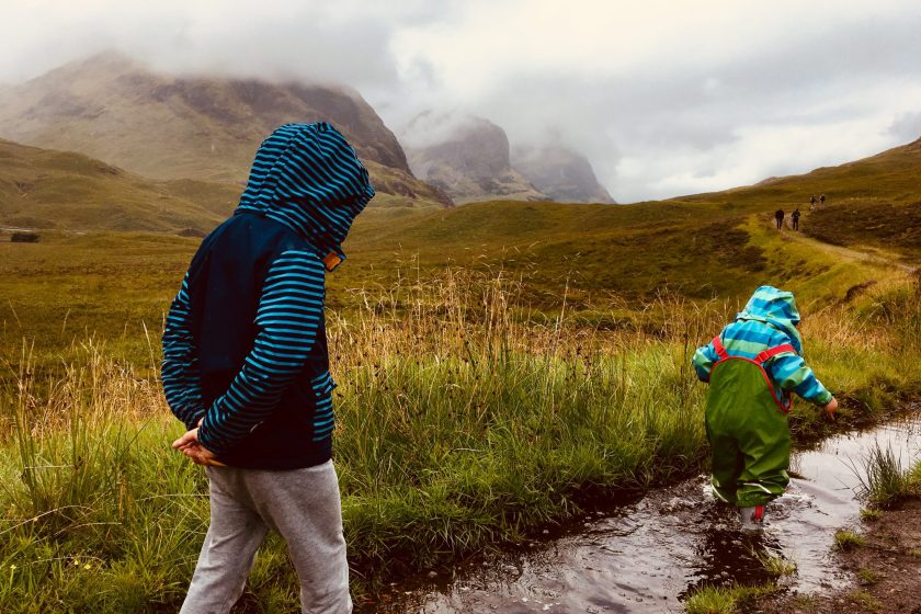 Scotland with children