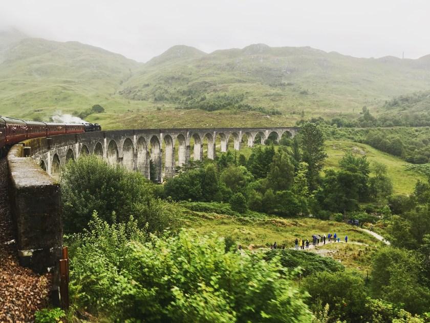 Glenfinnan Viaduct Schottland
