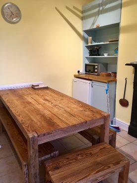 Küche im Riverside Alnmouth