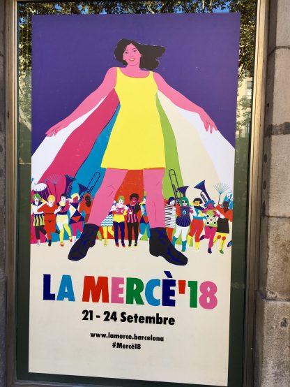 La Mercé 2018 Barcelona