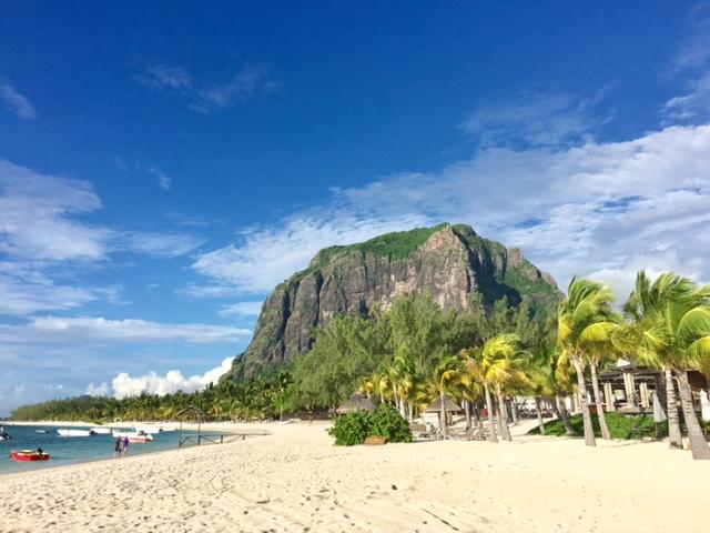 Le Morne Beach auf Mauritius