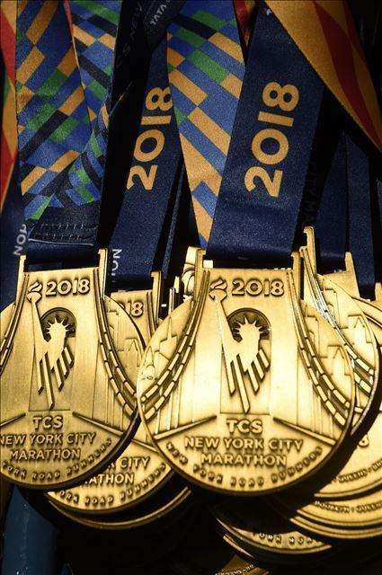 Medaille New York Marathon 2018