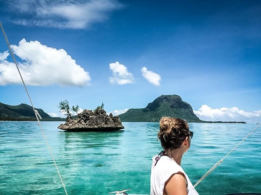Bootstour mit Delphinen und dem Coral Rock