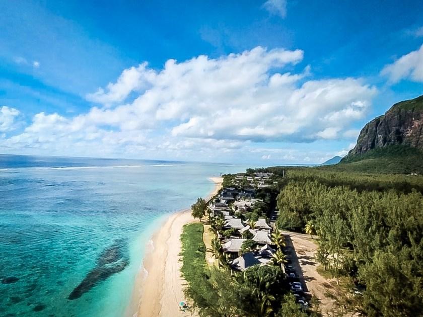 Mauritius von oben