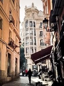 In the streets of Toledo