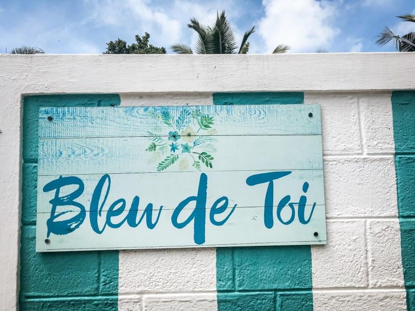 Welcome to the Bleu de Toi Guesthouse