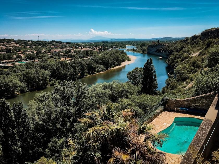 Ausblick von Aiguèze