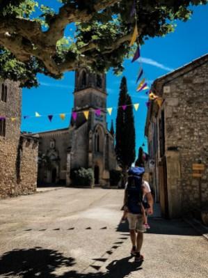 Süße Kirche in Aiguèze