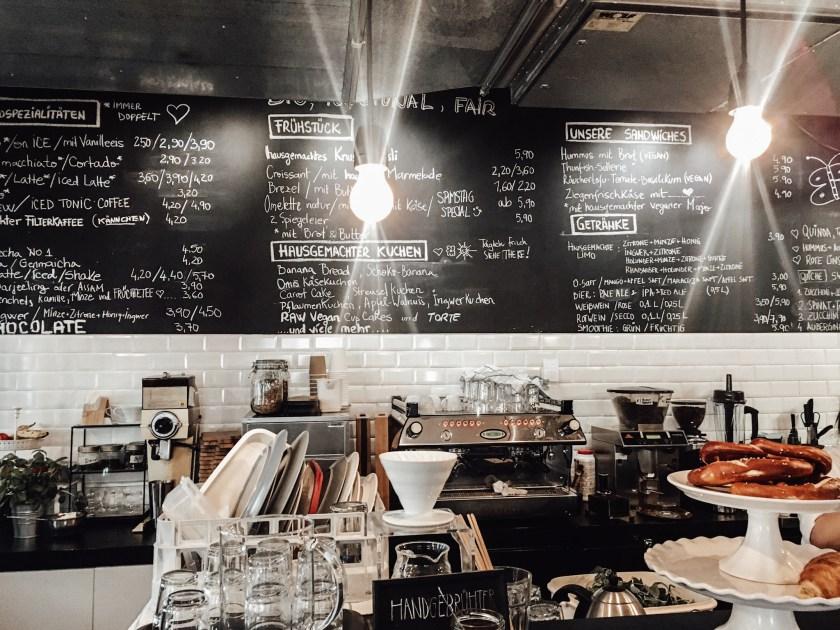 Kreidetafel Café Da