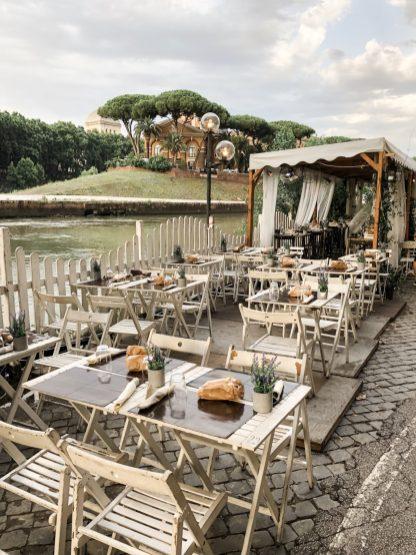 Romantische Restaurants am Tiber Trastevere