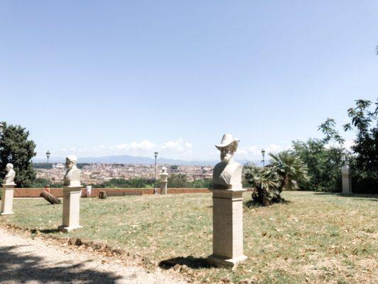 Schattiges Plätzchen am Gianicolo