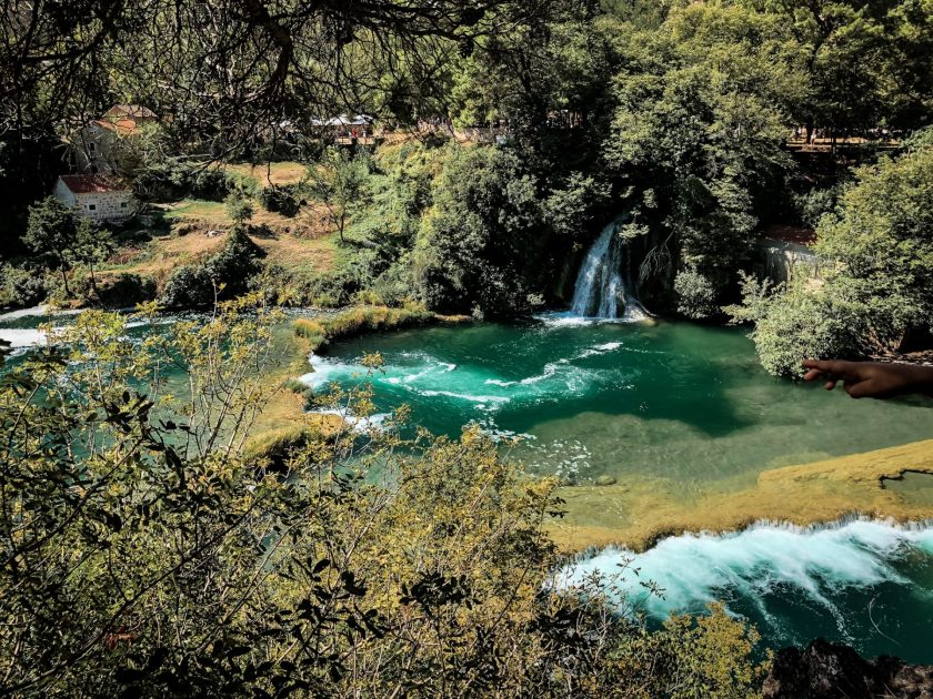 Pure nature in Krka NP