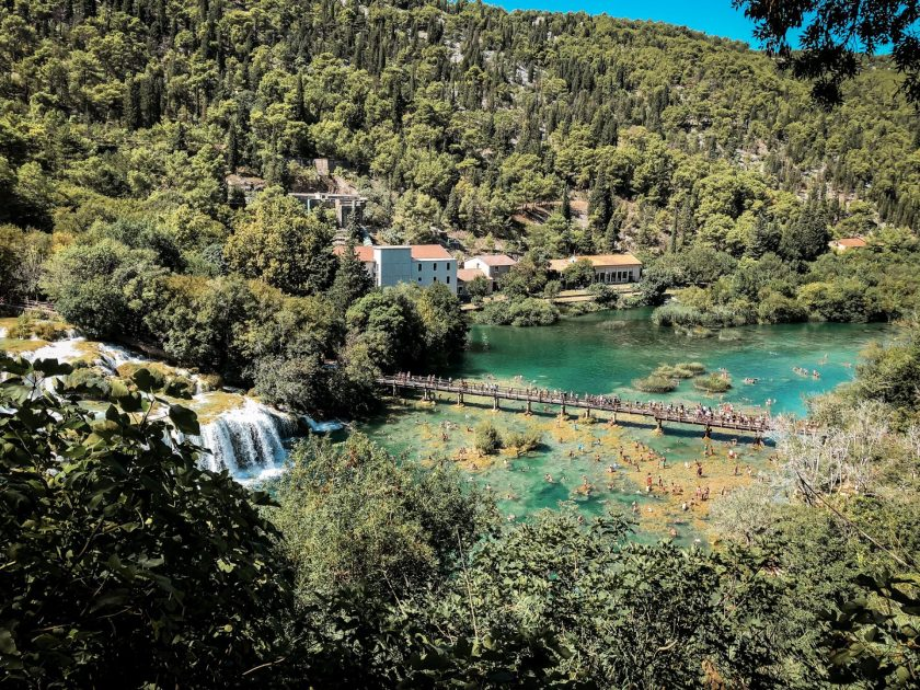 Skradinski Buk Wasserfall