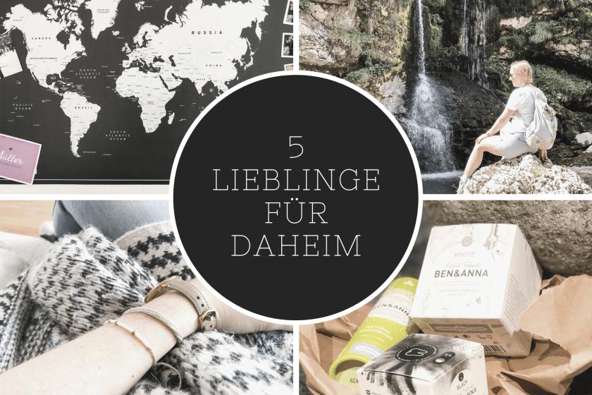 5 Lieblinge für Daheim als Ostergeschenk für Frauen