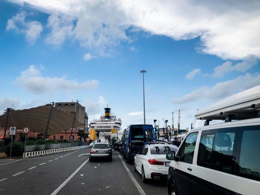 Fährhafen Livorno