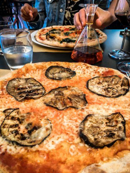 Die beste Pizza im Al Fiume Arco