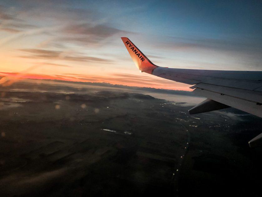 Flug nach Teneriffa