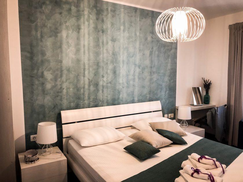 Schlafzimmer Auretta Apartment Novigrad