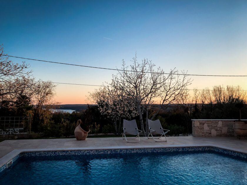 Sonnenuntergang Villa Laura