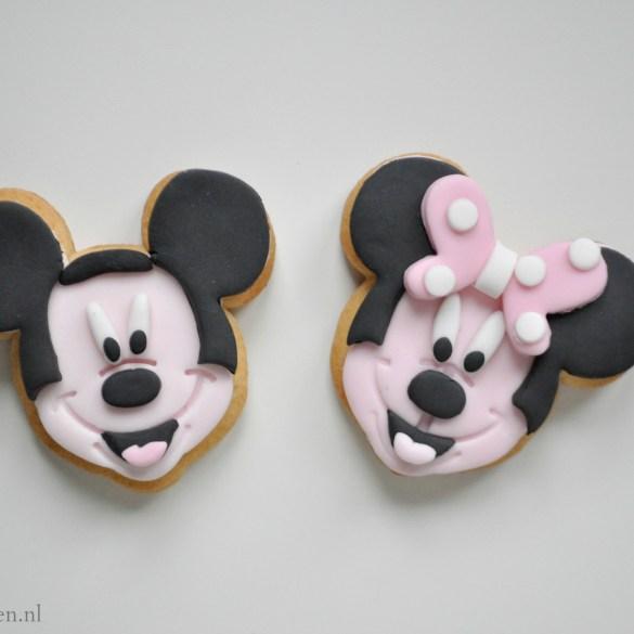 Micky Mouse koekjes