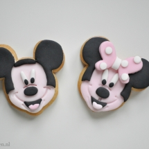 Mickey Mouse koekjes