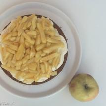 Appelfrietjes cake