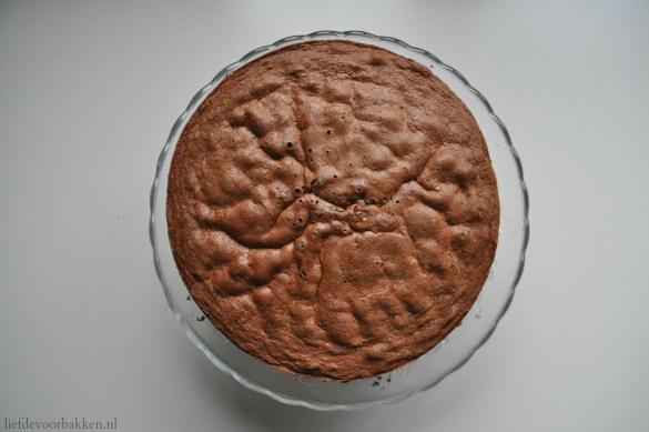 Merci-chocolade taartje