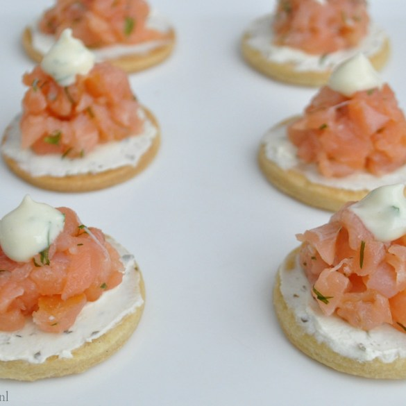 High Tea: zalm op toast