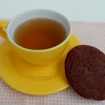 Redvelvet chocolate chip cookies