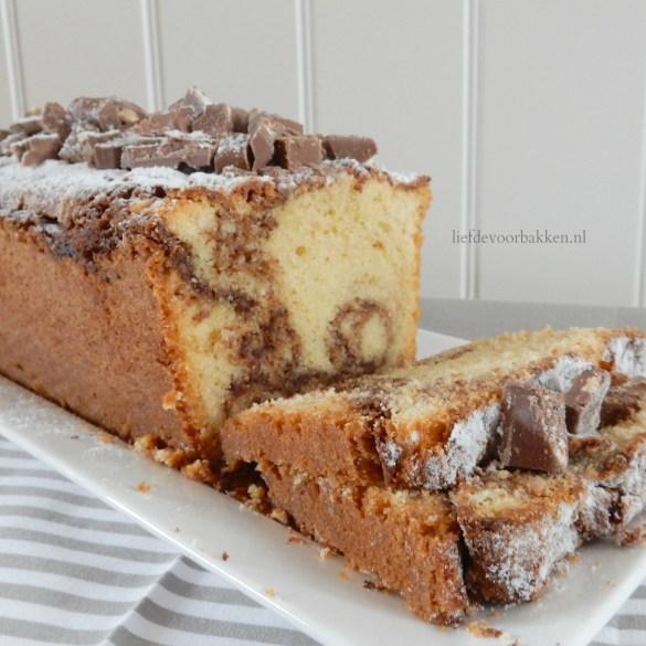 Milka-roomcake met nootjes