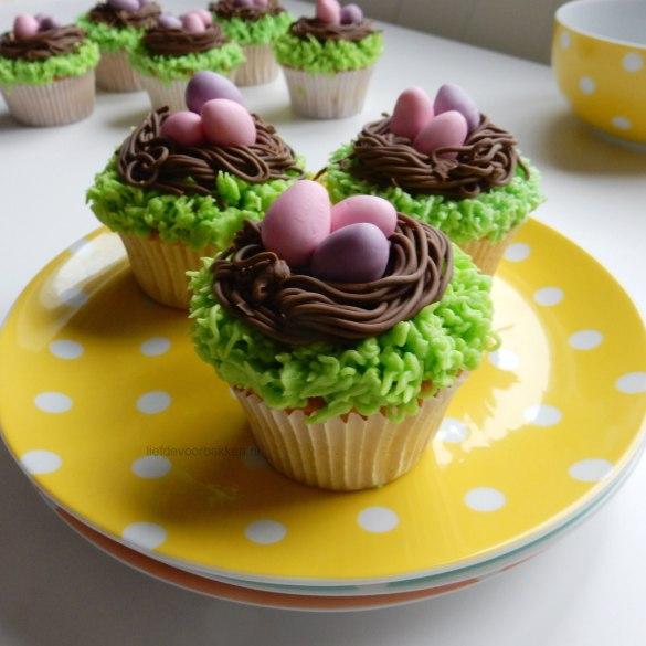 Cupcakes voor Pasen