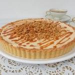 Stroopwafel karamel taartje