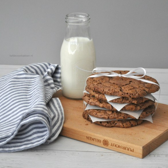 Brownie cookies met speculoos
