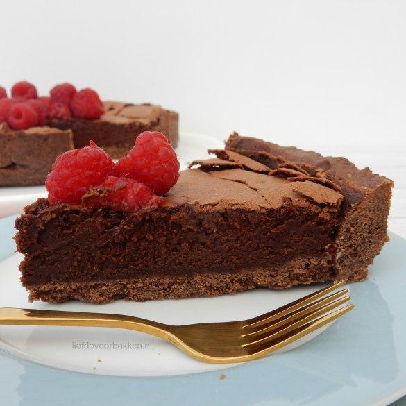Chocolade droom taartje