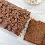 Cake met Milka chocolade pasta