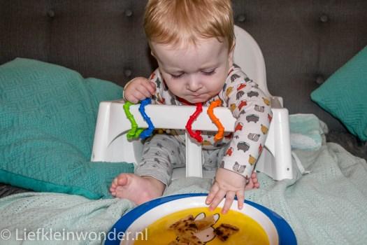 9 maanden oud pannenkoeken eten