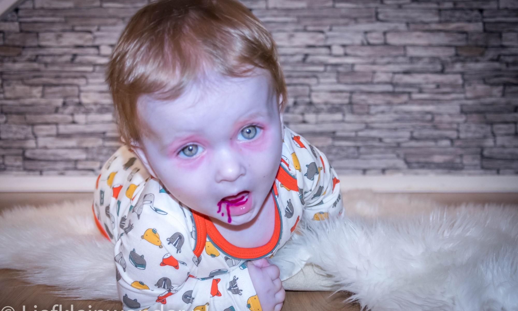Jayden halloween zombie monster