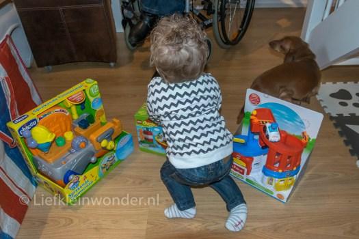 Jayden's eerste verjaardag , Cadeau, speelgoed