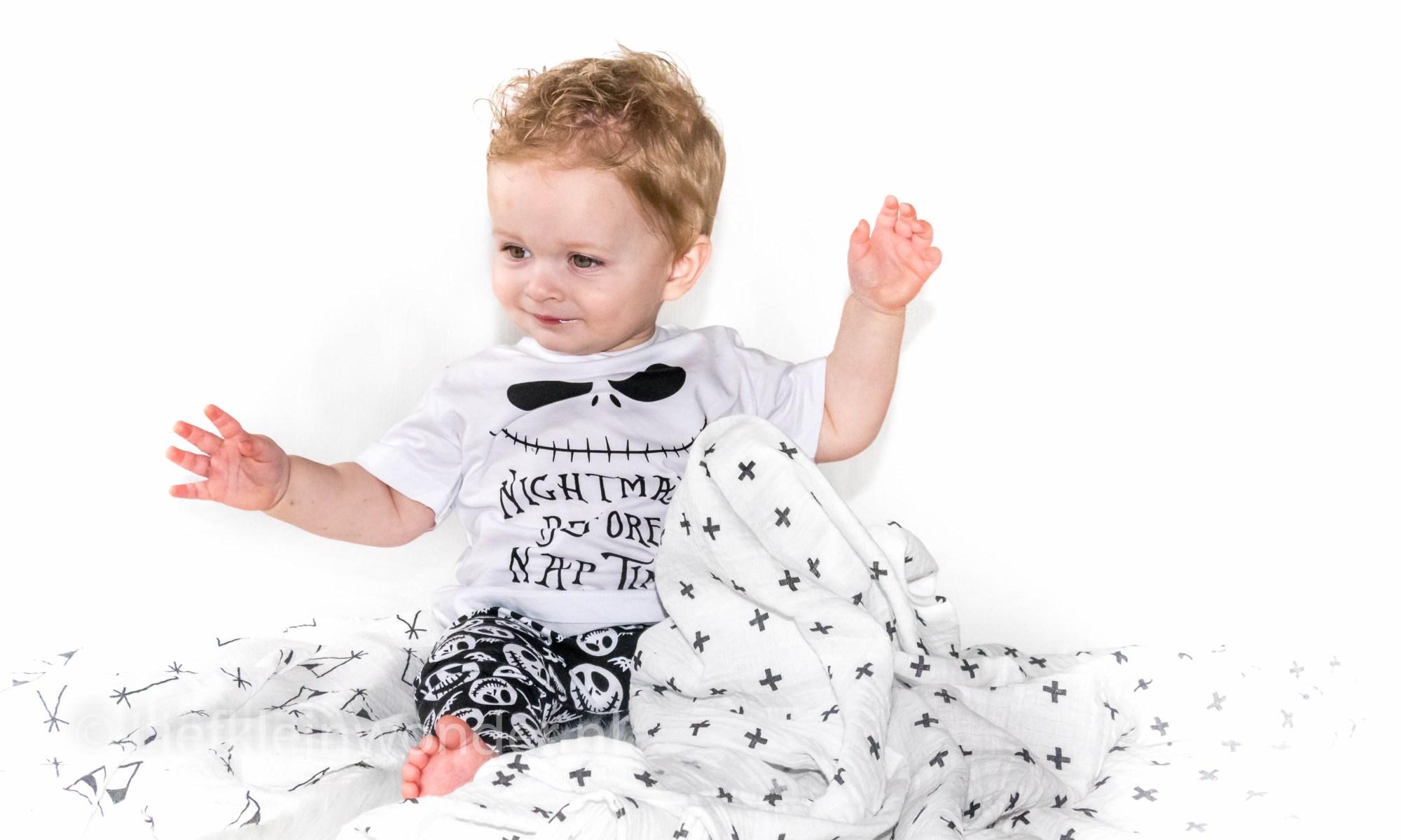 AliExpress babykleding - hydrofiel doeken XL tipi tent kruisjes pijlen